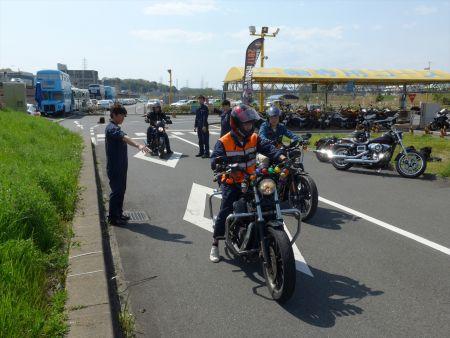 6月11日(日)コヤマドライビングスクール試乗会(ハーレー安全運転講習会)