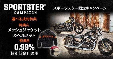 SPORTSTER キャンペーン★