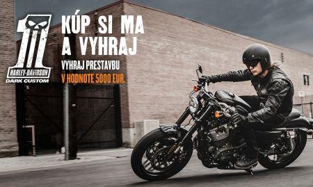Letná súťaž s Harley-Davidson