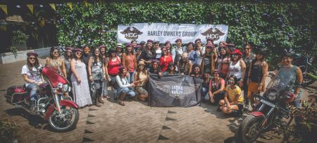 Kicking off the Ladies of Harley Chapter