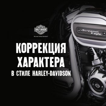 Коррекция характера в стиле Harley-Davidson.