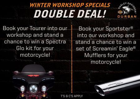 Workshop Winter Specials - Double Deal!