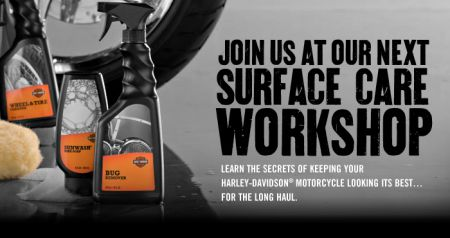 SURFACE CARE WORKSHOP