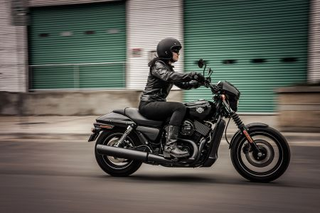 The Street® 750 - A motorcycle not to be taken lightly!