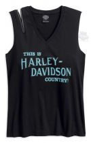 HARLEY COUNTRY MUSCLE TEE