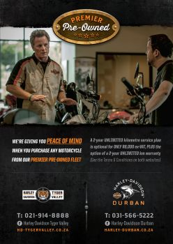 Harley® Durban's Premier Pre-Owned