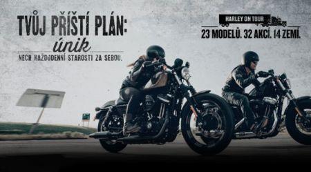 Testovací jízdy na Borských Polích - Harley on tour 2017