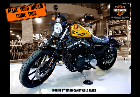 Hot Deal! Down payment 70,000 baht. Sportster® Iron883™