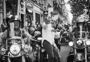 CHROME & ROSES - Baptêmes à moto