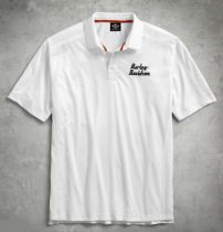 POLO-PERFORMANCE VENTED,WHT