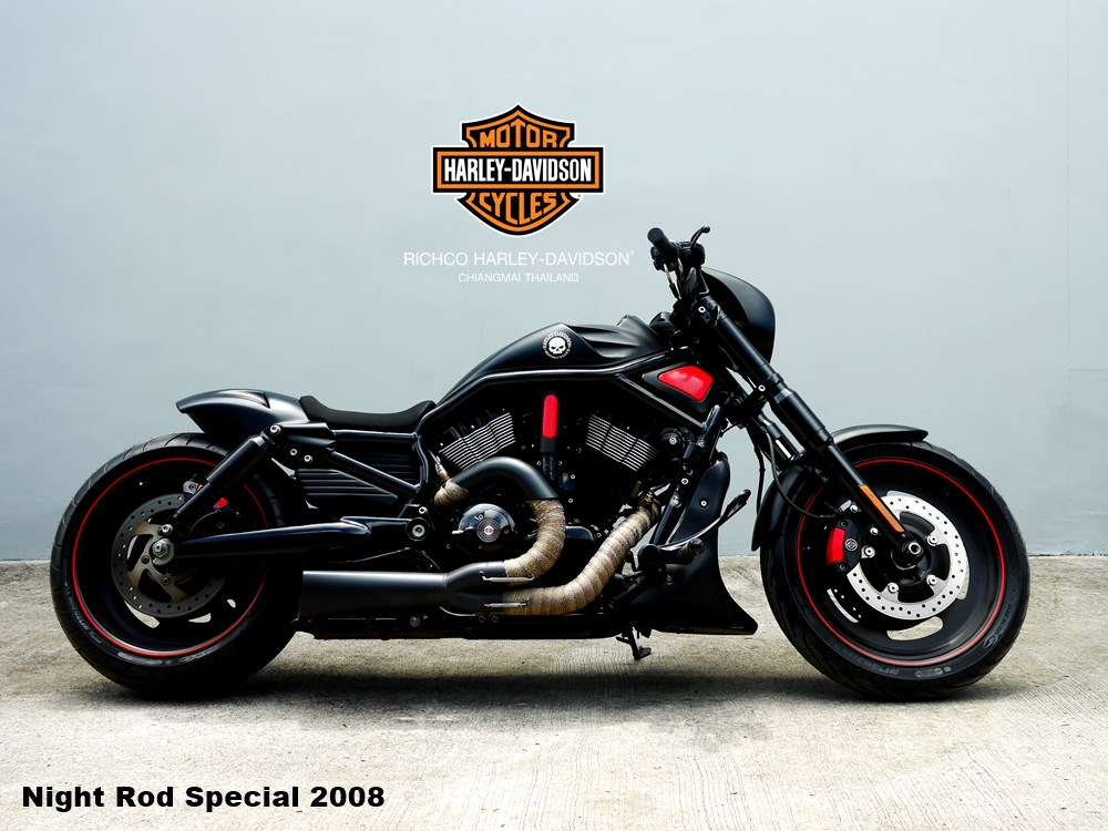 night rod special 2008 custom richco harley davidson. Black Bedroom Furniture Sets. Home Design Ideas