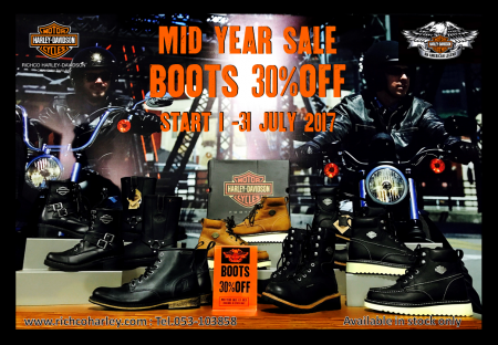 MID YEAR SALE 30%OFF FOR FOOTWEAR  & BOOTS