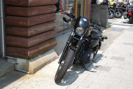 中古車入荷:Sportster XL883N Iron