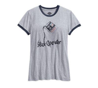 Slick Operator Ringer Tee