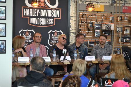Гарик Сукачев представил в Harley-Davidson Новосибирск свой новый фильм
