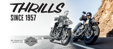 Aprit 60 gadi, kopš Harley-Davidson SPORTSTER pirmā rūciena