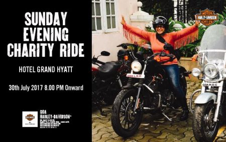 Sunday Evening Charity Ride