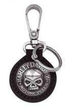 Harley-Davidson® Willie G. Skull Medallion Key Chain
