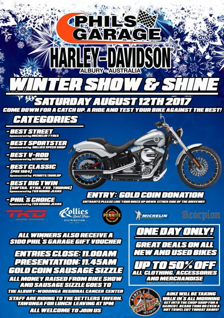 WINTER SHOW & SHINE