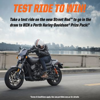 Street Rod Test Ride Promotion Terms & Conditions