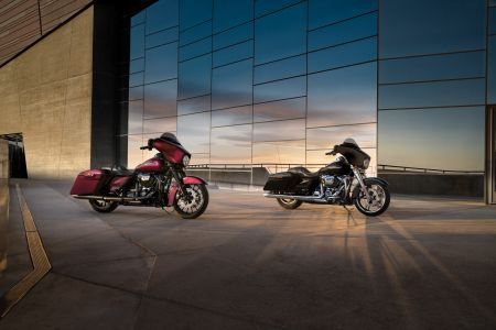 HARLEY-DAVIDSON® READIES FIVE STUNNING NEW TOURING BIKES FOR 2018