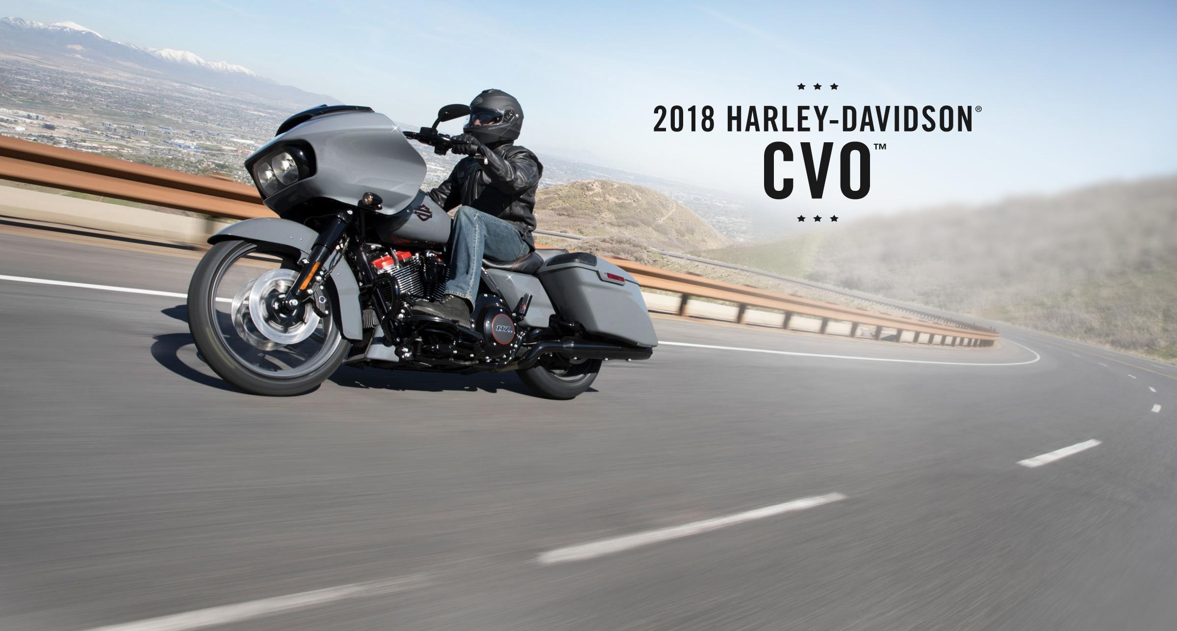 CVO™ - MOTOCYKLE NA ROK 2018