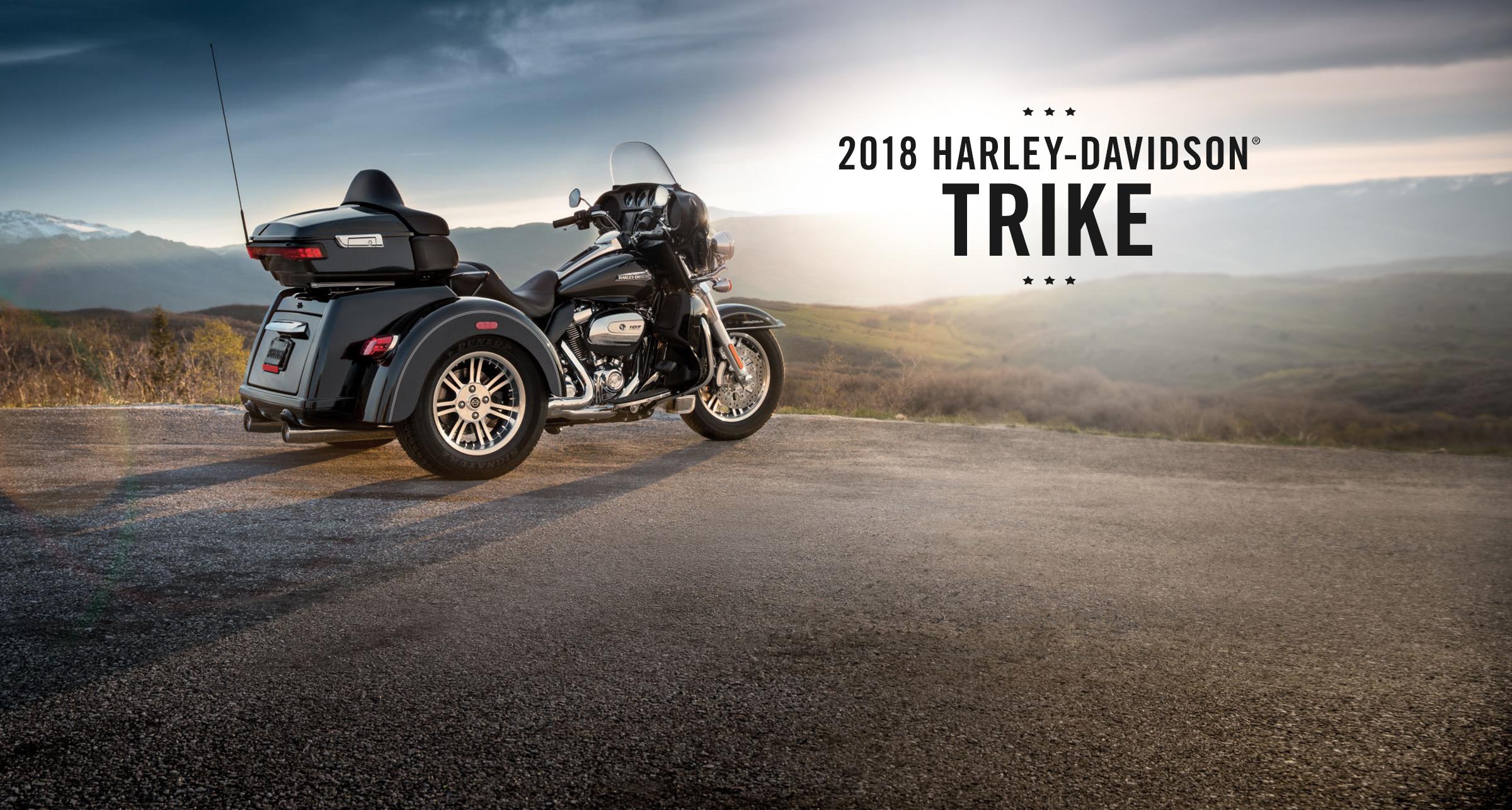 Trike - 2018 Motorcycles