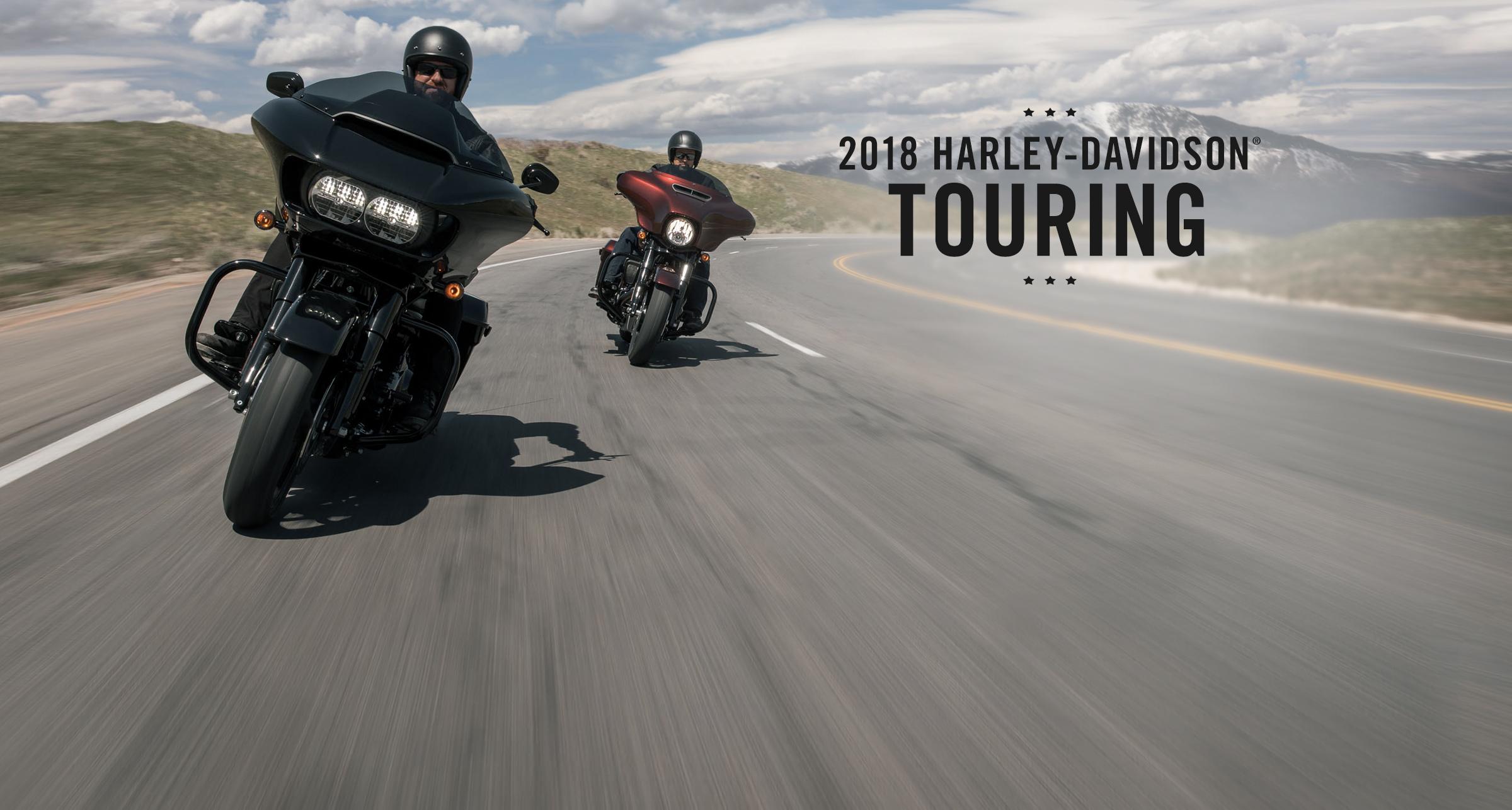 Touring - Motorcyklar årsm. 2018