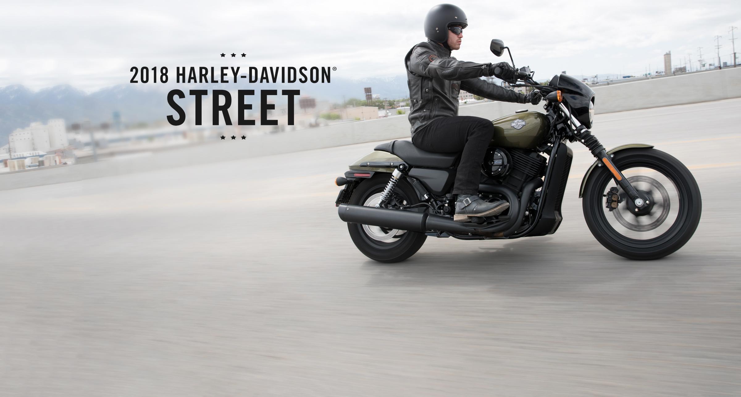 Street - Мотоциклы 2018