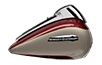 Electra Glide<sup>®</sup> Ultra Classic<sup>® - Twisted Cherry / Silver Fortune