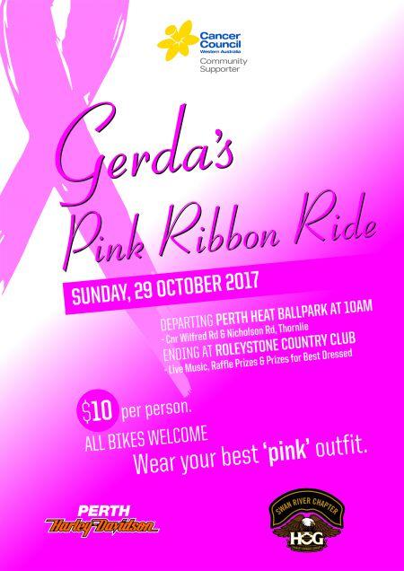 Gerda's Pink Ribbon Ride