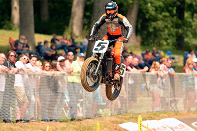 Factory Harley XG750 bikes make the Main for Peoria TT