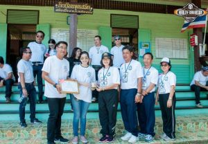 One Day Trip@H-D Pattaya ชวนลูกค้าออกทริปพร้อมบริจาคเงินสนับสนุนให้กับโรงเรียนจุกเสม็ด