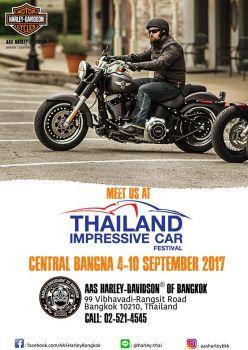 เป็นเจ้าของรถฮาร์เล่ย์ฯ ได้ง่ายๆในงาน Thailand Impressive Car Festival 2017