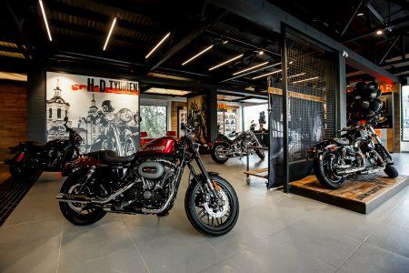 Первый. Официальный. Дилерский центр Harley-Davidson в Тюмени открыт.
