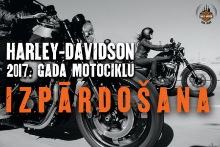 2017. gada motociklu modeļu izpārdošana