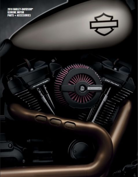 2018 Genuine Harley-Davidson Parts & Accessory Catalogue