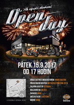 Open Day HARLEY-DAVIDSON-Ostrava 15.9.2017
