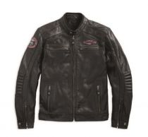 Cruiser Perforated Leather Jacket