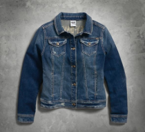 Studded Eagle Denim Jacket