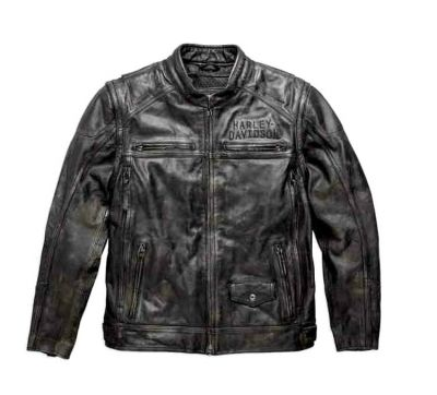 Ironwood Convertible Leather Jacket & Vest