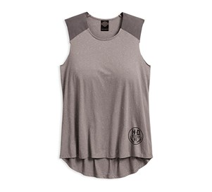 Contrast Shoulder Tank