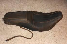 Selle Badlander en cuir brun - 52000026