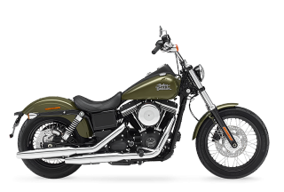 FXDB Street Bob<sup><sup>®</sup></sup> - 2017 Motorcycles