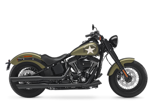 SOFTAIL SLIM<sup>®</sup> S - 2017年モデル