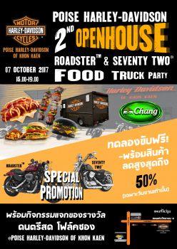 Poise Harley-Davidson of Khon Kaen 2nd Open house