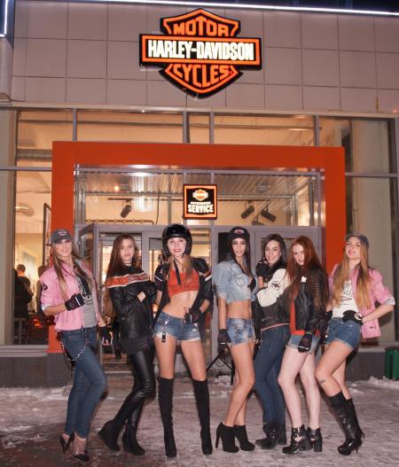 День рождения Harley-Davidson Новосибирск