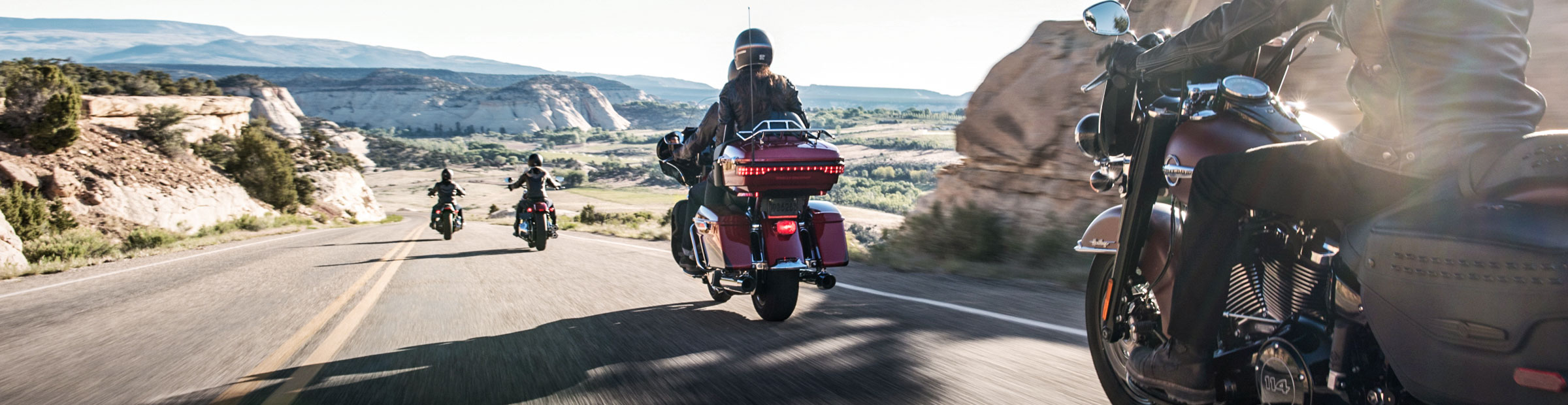 Harley-Davidson<sup>&reg;</sup> Authorized Rentals