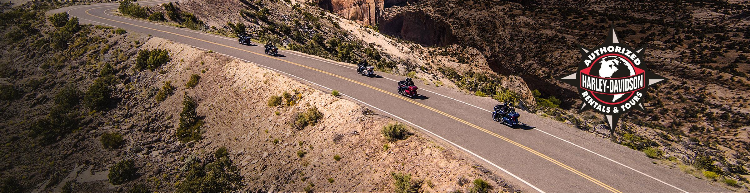 Harley-Davidson<sup>&reg;</sup> Authorized Tours