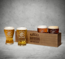 Beer Flight Glasses & Box